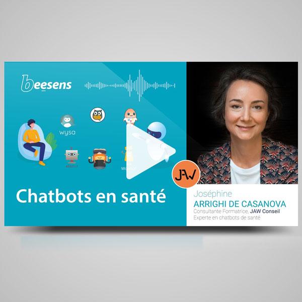 Chatbots en santé-panorama des solutions, enjeux et cas d'usage patients et professionnels.