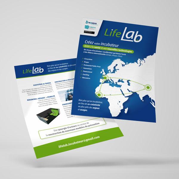 LifeLab flyer